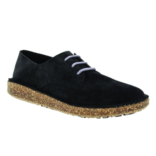 Birkenstock Gary Lace-up - Black Suede
