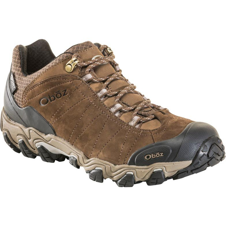 Oboz Bridger Low B-Dry Hiking Shoe - Canteen Brown