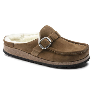 Birkenstock Buckley Shearling Clog - Tea / Natural