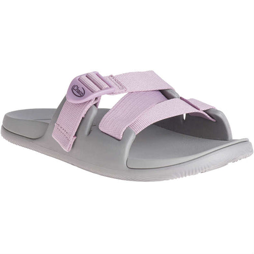 Chaco Chillos Slide - Solid Mauve