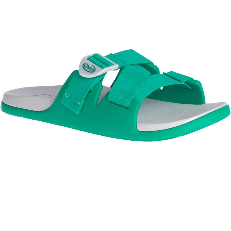 Chaco Chillos Slide Sandal - Teal