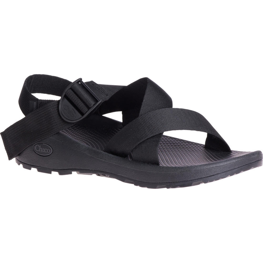 Chaco Mega Z/Cloud Sandal - Solid Black