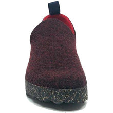 Asportuguesas City Double Tweed Slip On Shoe - Merlot