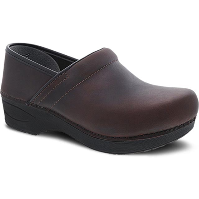 Dansko XP 2.0 Clog - Brown Waterproof Pull Up