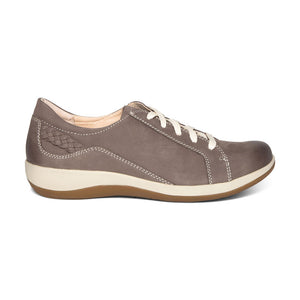 Aetrex Dana Oxford Warm Grey Profile
