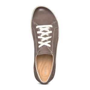 Aetrex Dana Oxford Warm Grey Top View
