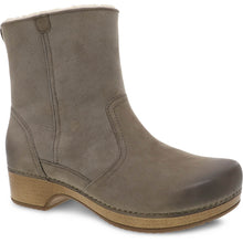 Dansko Bettie Boot - Taupe Burnished Nubuck