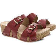 Dansko Leeann Sandal - Red Burnished Calf Pair