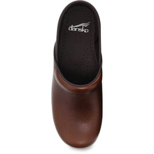 Dansko Professional Clog - Tan Tumbled Pull Up Leather
