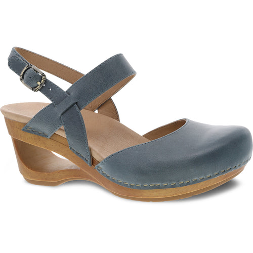 Dansko Taci Mary Jane - Denim Waxy Calf