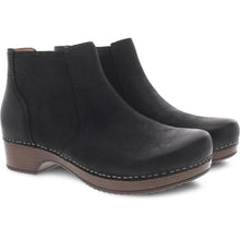 Dansko Barbara Boot - Black Burnished Nubuck 2