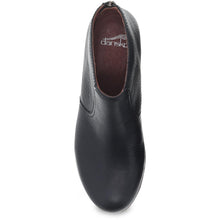 Dansko Becki Ankle Boot - Black Waterproof Tumbled Top