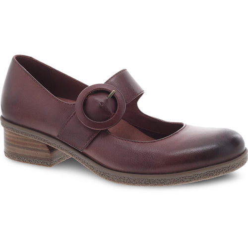 Dansko Brandy Mary Jane - Spice Waterproof Burnished