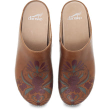Dansko Brenda Clog - Tan Waxy Burnished Top