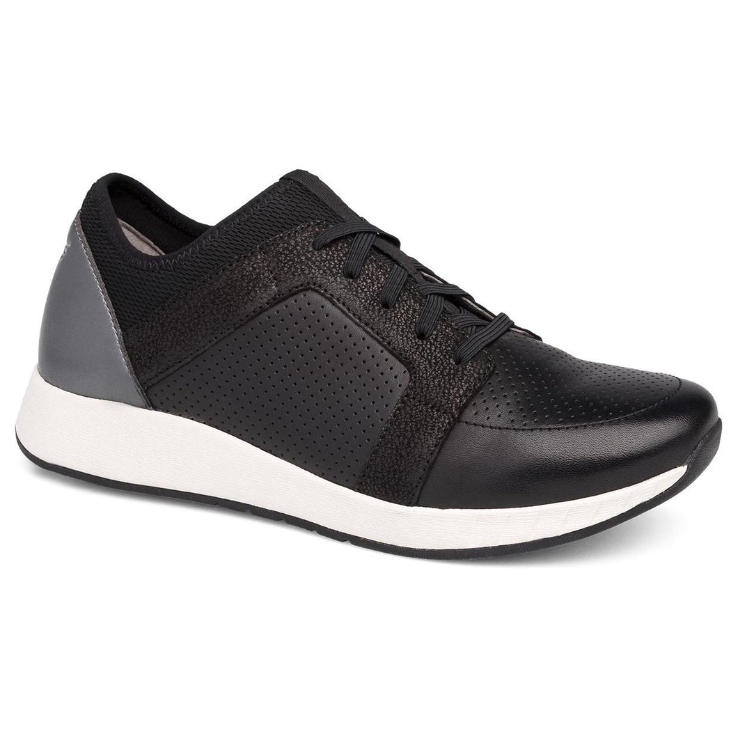 Dansko Cozette Sneaker - Black Leather