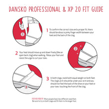 Dansko Professional and XP 2.0 Fit Guide