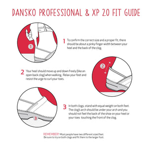 Dansko Professional Fit Guide