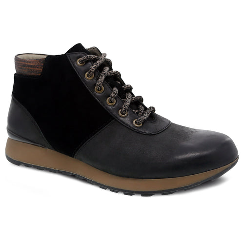 Dansko Ginny Ankle Boot - Black Burnished Nubuck