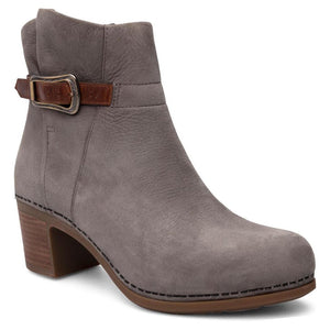 Dansko Hartley Ankle Boot - Grey Nubuck
