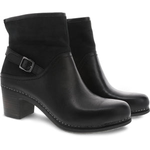 Dansko Hayley Boot - Black Milled Calf 2