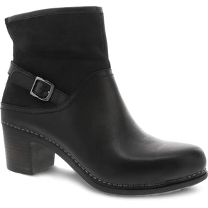 Dansko Hayley Boot - Black Milled Calf
