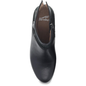 Dansko Hayley Boot - Black Milled Calf Top