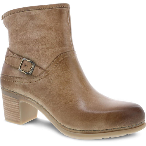 Dansko Hayley Boot - Tan Distressed