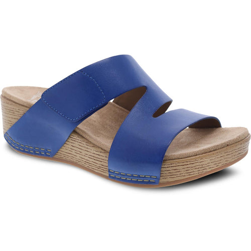 Dansko Lacee Sandal - Cobalt Burnished Leather