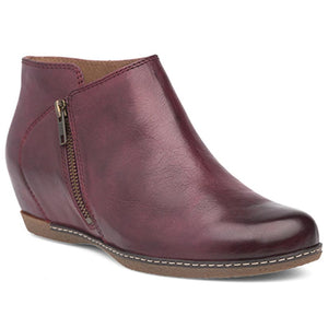 Dansko Leyla Wedge - Wine Burnished Nubuck