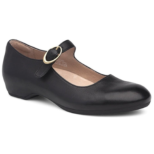 Dansko Linette - Black Milled Nappa Leather