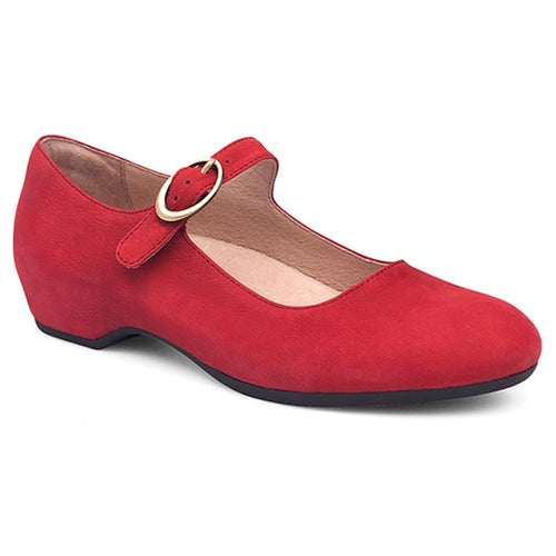 Dansko Linette - Red Milled Nubuck Leather