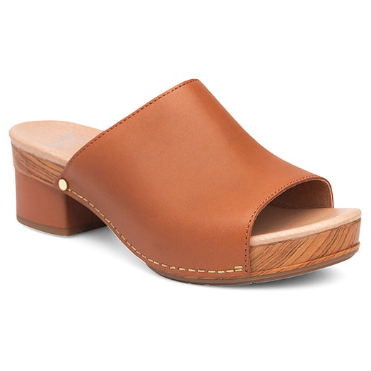 Dansko Maci Sandal - Camel Full Grain Leather