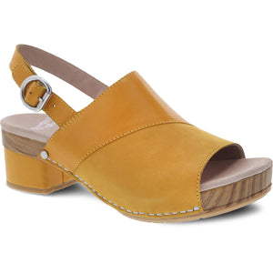 Dansko Madalyn Sandal - Mango Burnished Leather