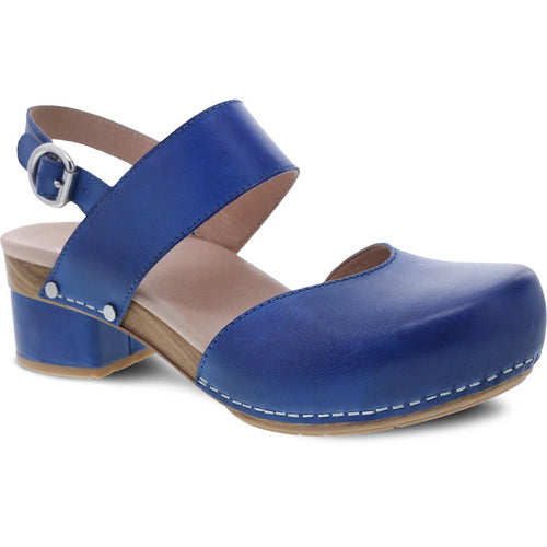 Dansko Malin - Cobalt Burnished Leather