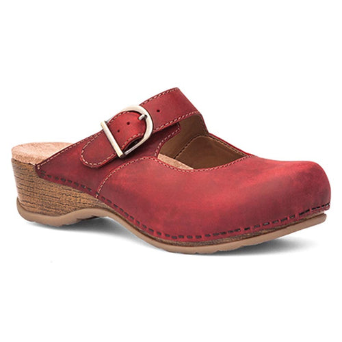 Dansko Martina Clog - Red Oiled