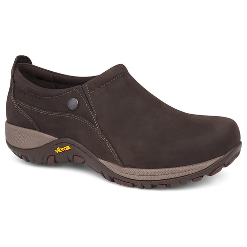 Dansko Patti Slip On - Chocolate Milled Nubuck