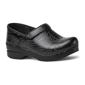 Dansko Professional Clog - Black Tooled