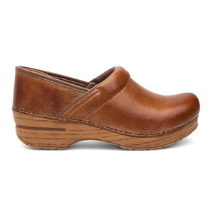 Dansko Professional Clog - Honey Distressed Leather