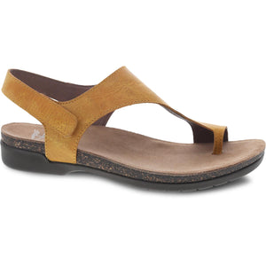 Dansko Reece Sandal - Mango Waxy Burnished Leather