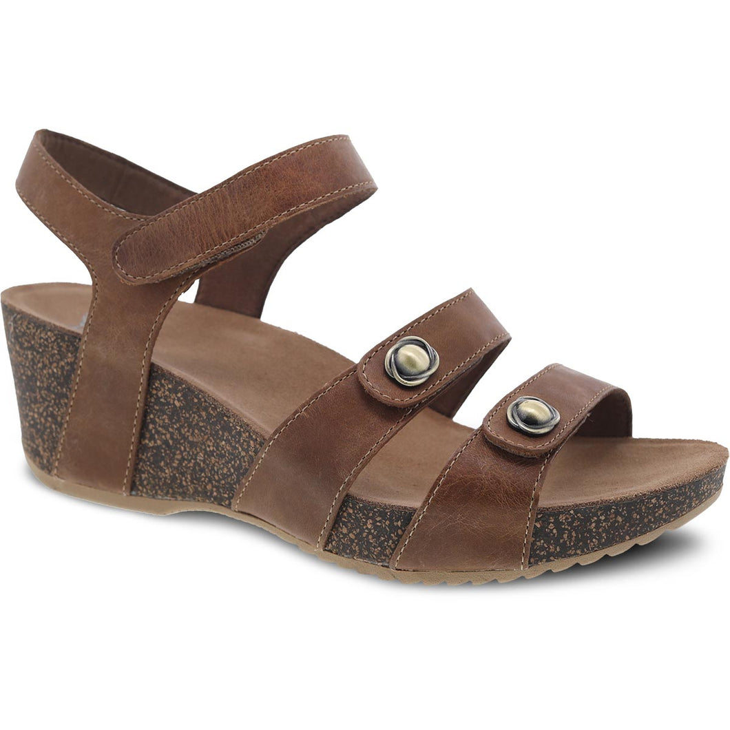 Dansko Savannah Sandal - Tan Waxy Burnished Leather