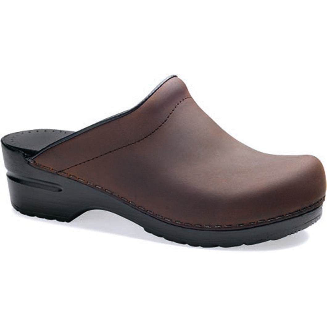 Dansko Sonja Clog - Antique Brown Oiled