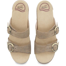 Dansko Sophie Sandal - Tan Metallic Top View