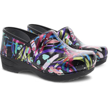 Dansko XP 2.0 Clog - Multi Brushstroke Patent two