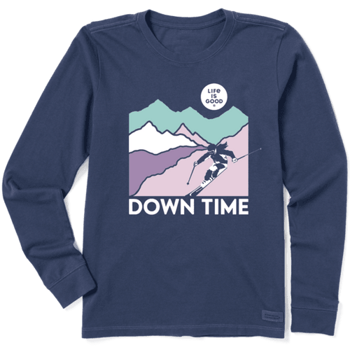 Life is Good Women's Downtime Long Sleeve Tee
