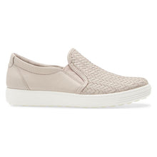 Ecco Soft 7 Woven Slip-On - Grey Rose side
