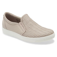 Ecco Soft 7 Woven Slip-On - Grey Rose