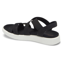 Ecco FlowT Strappy Sandal - Black back