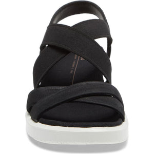 Ecco FlowT Strappy Sandal - Black  front