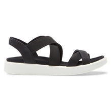 Ecco FlowT Strappy Sandal - Black  side