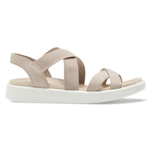 Ecco FlowT Strappy Sandal - Grey Rose side